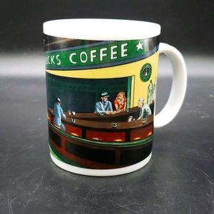 Starbucks Coffee Mug Cup By Chaleur Nighthawks Din
